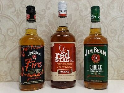 3 # Jim Beam, Choice, Red Stag, Fire USA