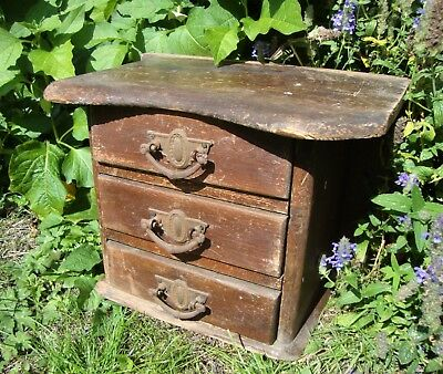 Vintage Rustic Handmade Chest Of Drawers - For Restoration - Shop Window Display