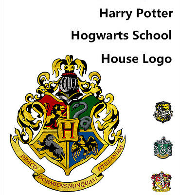 Harry Potter Vinyl sticker wall decal house logo Hogwarts Cryffindor Slytherin