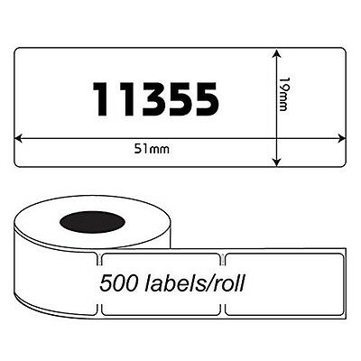 5 Rolls 11355 Address Thermal Labels Compatible Dymo Seiko Labelwriter Printer