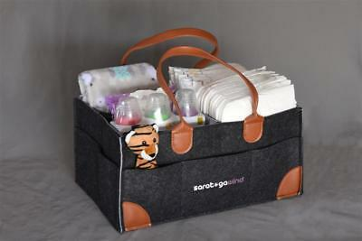 Large Diaper Caddy, Arts and Crafts organizer, OOAK by Saratoga  Wind