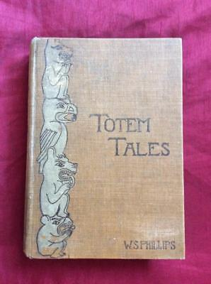 Rare 1896 First 1St Edition Indian Totem Poles Pacific Northwest West Indians