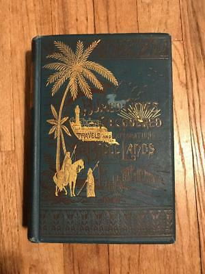 1886 Archeology Holy Land Ancient Ruins Old Egypt Palestine Israel Islam Bible