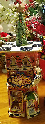 Heather Goldminc THE CHRISTMAS STORE Decorative Tealight Cover - Great Condition