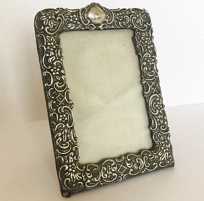 Antique Victorian Solid Silver Photo Frame - Birmingham 1901 - William Devenport