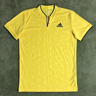 Adidas Tennis Men S London Henley Shirt Zverev S Worn Once Sold Out 60