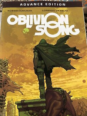 OBLIVION SONG TP by ROBERT KIRKMAN Advance Edition Promo IMAGE Comics RARE