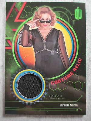 River Song Costume Relic card (Black Dress) #120/499 - Topps Doctor Who