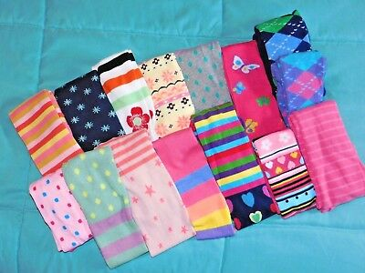 Girls New Tights Various Colors In Sizes 6 Months Thru Age 10 Matilda Jane & Mor