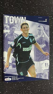 Ipswich Town V Coventry City 2011-12