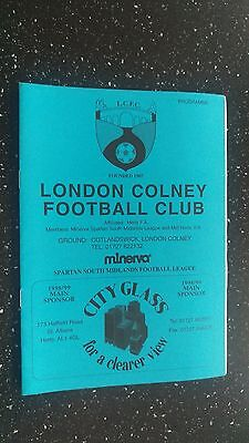 London Colney V St Albans City 1998-99