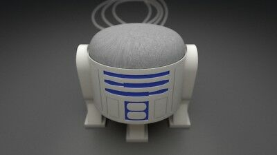 R2-D2 Inspired Google Home Mini Stand - Unpainted