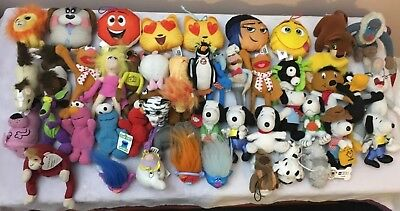 Huge Collection McDonalds Happy Meal Toys - 50 Mixed Soft Toys - 1996 - 2017