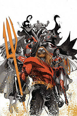 Justice League #10 Foil (Drowned Earth) (Rebirth) - 10/17/18