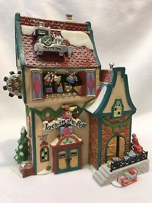 Dept 56 North Pole Series Jack In The Box No. 2