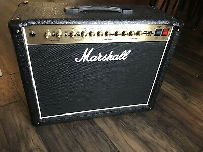 MARSHALL DSL40C 40 Watt 1x12 Tube Combo Amp Amplifier Reverb NO RESERVE DSL  40