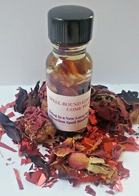 Love Oil Attraction Oil Come To Me Spellbound Oil Hoodoo Conjure Oil Wicca Oil