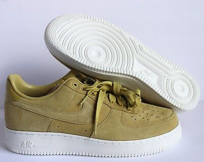 NIKE MEN'S AIR Force One Low Premium Suede ID GreenSail