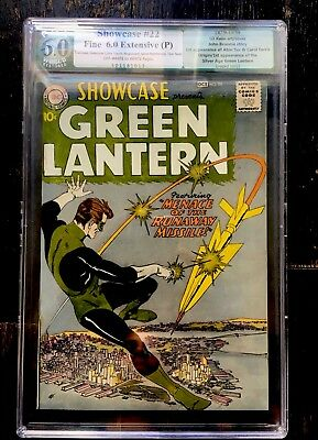 Showcase #22 - 1st App of SA Green Lantern Hal Jordan - PGX 6.0 - 1959