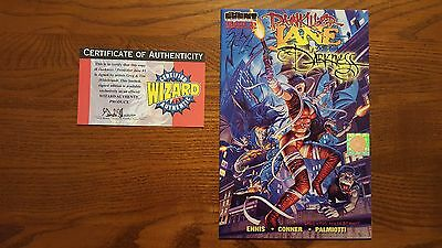 Painkiller Jane Vs The Darkness #1 Signed By The Artists With Coa - Nice