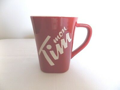 NEW Tim Hortons mon Tim French Only 2013 Limited Edition China Coffee Mug