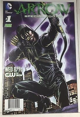 Arrow Special Edition #1 (2012) CW TV Preview | DC Comics | Oliver Queen | Green