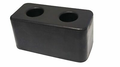 """New Rubber Molded Dock Bumper for Truck, Trailer & Loading Bays 3""""X3""""X6"""""""