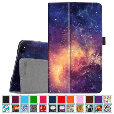 For Samsung Galaxy Tab A 8.0 SM-T387 2018 / SM-T380 2017 Tablet Folio Case Cover