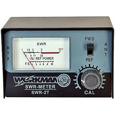 Brand New SWR METER to Test CB Radio Antennas - Workman SWR2T