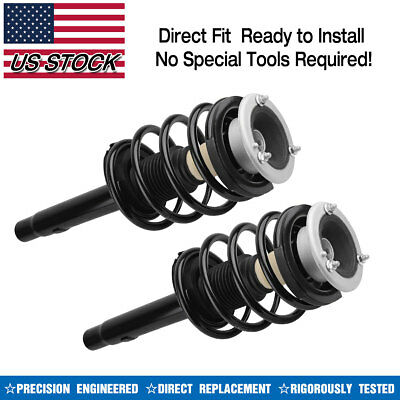 FRONT PAIR OF (2) Complete Struts fits BMW 320i 323Ci 323i
