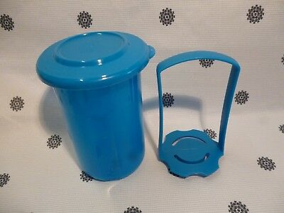Tupperware Mini Round Pick a Deli Beetroot Keeper 500ml Blue New