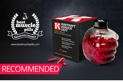 INSTANT KNOCKOUT - Fat Burner Weight Managemen Revolutionary Shredding Formula
