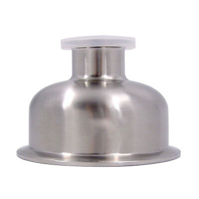 """HFS (R) 3"""" x 4"""" Concentric Reducer Stainless Steel 304"""