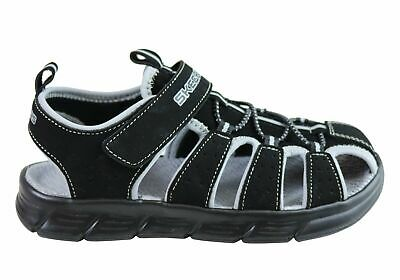 New Skechers Infant Toddler Boys Cushioned Closed Toe C Flex Sandals