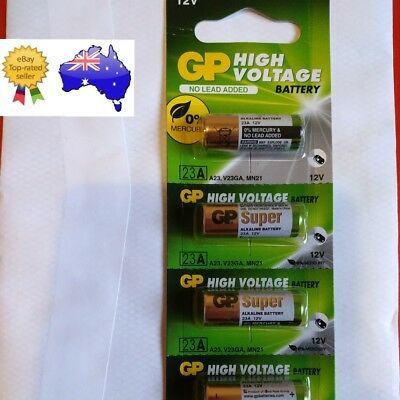 1x 23A 21/23 A23 23GA 12V Alkaline Battery Garage Car Remote GENUINE GP SUPER