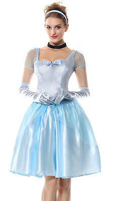 Women Sexy Adult Deluxe Fairy Tale Princess Party Cosplay Costume Fancy Dress