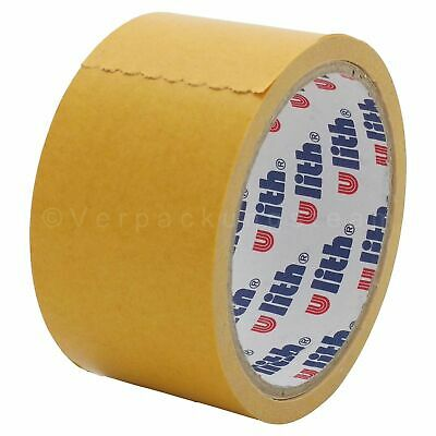 ( Eur. 0,11 / M-Eur 0,17 / M) Double Sided Adhesive Tape 80my 50 mm x 10 M