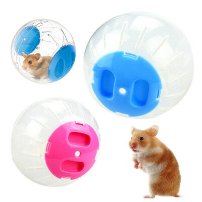 Small Pets Hamster Toy Running Ball Creative Funny with Colorful Cover Plastic