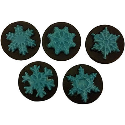 Snowflake Oreo Cookie Chocolate Mould or Soap Mould