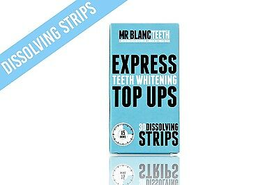 Mr Blanc Teeth | Express Teeth Whitening Top Up Strips