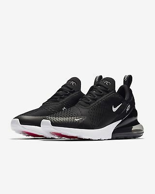 Nike Air Max 270 Mens Running Shoes Sneakers Trainers 2018 Black/White US10/EU44