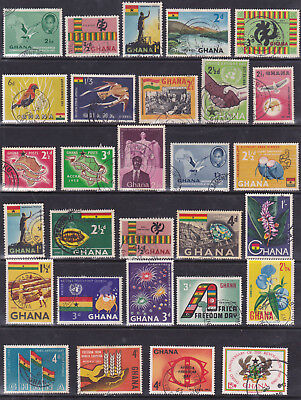 Ghana - Collection Of 25 Stamps - Mint - Nice Lot ####
