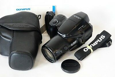 Olympus IS-3000 35mm Film SLR Camera 35-180mm High-Res ED Lens