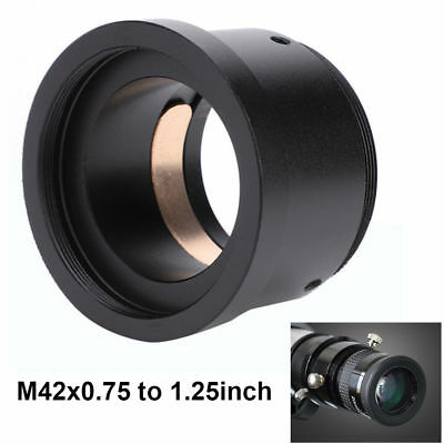 """M42 X 0.75 to 1.25"""" Astronomical Telescope Photography Adapter Compression Ring"""