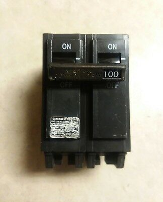 GE General Electric THQB THQB2100 100-Amp 2-Pole 100A 2P Bolt-on Circuit Breaker