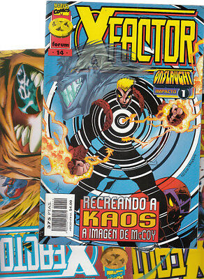 X-FACTOR.  VOL. 2  Nº s : 11. 12. 14. .   ( LOTE  3   NUMEROS )  forum.