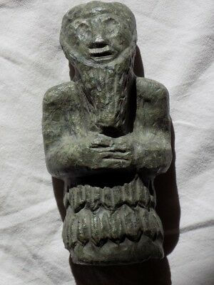 Antique Stone Statuette Figure