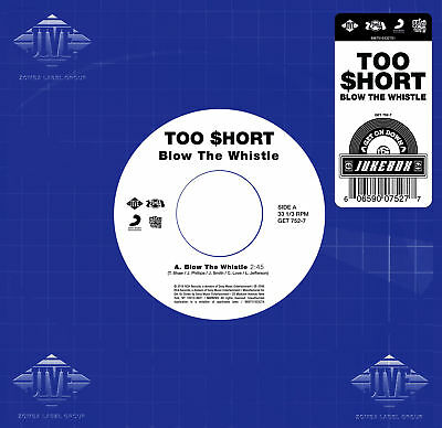 """Too $hort - 'Blow The Whistle' (7"""" Vinyl Single Record)"""