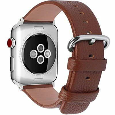 15 Colors for Apple Watch Bands 38mm, Fullmosa Yan Calf Leather Replacement Band