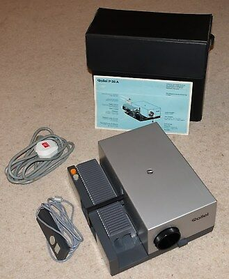 Rollei P35A 35 mm slide projector with f2.8 85 mm lens